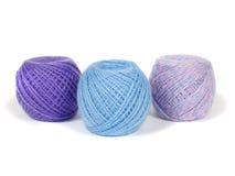 Madejas de las lanas Foto de archivo libre de regalías