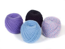 Madejas de las lanas Fotos de archivo