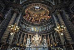 Madelaine-Kirche in Paris Stockbilder
