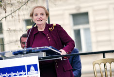 Madeleine Albright royalty-vrije stock fotografie