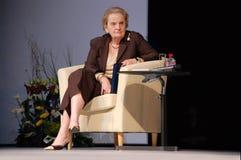 Madeleine Albright Royalty-vrije Stock Afbeeldingen