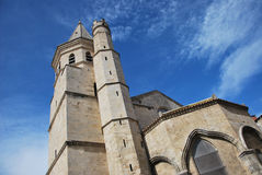 The Madeleine Church  in Beziers Stock Photo