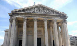 Madeleine church , Paris Royalty Free Stock Images