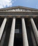 Madeleine church in Paris Stock Images