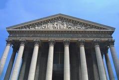 Madeleine Church Paris-de Erfenisplaats van Unesco stock foto