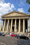 The Madeleine Church in Paris Stock Photo