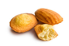 Madeleine cookies Royalty Free Stock Images