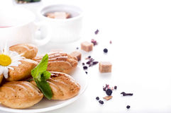Madeleine homemade cakes Royalty Free Stock Images