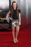 Madeline Carroll. At the 'Real Steel' World Premiere, Gibson Amphitheater, Universal City, CA 10-02-11 Stock Photos