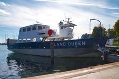 Madeline Island Ferry arkivfoto