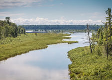 Madeline Island Lagoon Royalty Free Stock Photography
