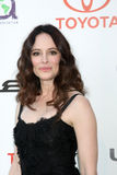 Madeline Stowe. LOS ANGELES - OCT 15: Madeline Stowe arriving at the 2011 Environmental Media Awards at the Warner Brothers Studio on October 15, 2011 in Beverly royalty free stock photo