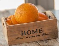 Madera anaranjada de la fruta fotos de archivo