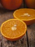 Madera anaranjada de la fruta fotografía de archivo libre de regalías