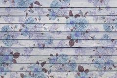 Madera azul Imagenes de archivo
