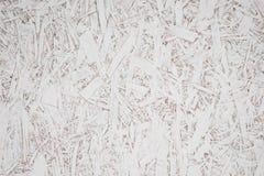 Madera blanca de la textura de la demostración del color de la superficie de la madera contrachapada Foto de archivo libre de regalías