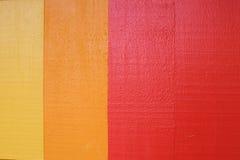 Madera coloreada Foto de archivo