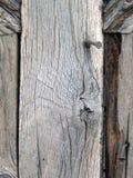 Madera con los clavos Fotos de archivo