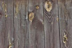 Madera con los nudos Foto de archivo
