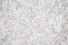 Madera contrachapada con el blanco del fondo pintado Imagen de archivo