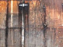 Madera contrachapada rústica histórica resistida imagen de archivo libre de regalías
