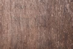 Madera de Brown con textura y algún rasguñado por el paso del tiempo fotos de archivo