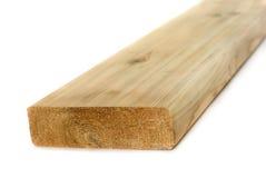 Madera de construcción de madera aislada Imagenes de archivo