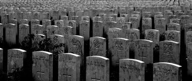 Madera de Delville - cementerio de Loungeval Fotografía de archivo