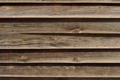 Madera de la cerca secada por el sol Fotos de archivo
