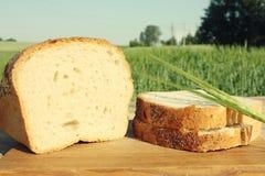 Madera de la comida Imagen de archivo