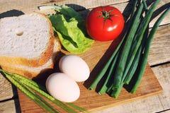Madera de la comida Imagenes de archivo