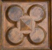 Madera de la decoración Fotos de archivo libres de regalías