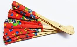 Madera de la fan Foto de archivo libre de regalías