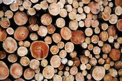 Madera de la madera de construcción Imagen de archivo