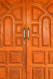 Madera de la puerta Foto de archivo