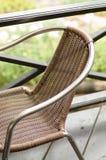 Madera de la silla. Fotos de archivo