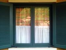 Madera de la ventana Imagen de archivo libre de regalías