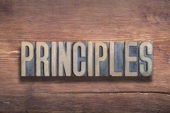 Madera de las letras de los principios foto de archivo libre de regalías