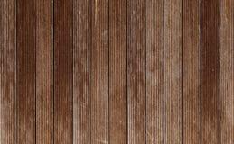 Madera de madera oscura del panel del tablón del fondo de la textura Imagen de archivo libre de regalías