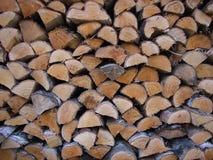 Madera del fuego Imagen de archivo libre de regalías