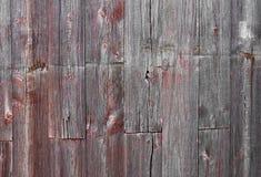 Madera del granero Foto de archivo