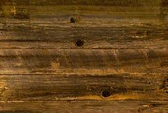 Madera del granero de Brown Foto de archivo libre de regalías