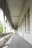 Madera del pasillo Foto de archivo libre de regalías