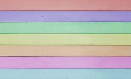 Madera del tablón de Battens de la cerca Foto de archivo libre de regalías