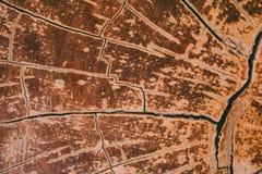 Madera dura del vintage de Brown Foto de archivo libre de regalías
