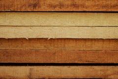 Madera en emplazamiento de la obra Imagen de archivo