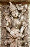 Madera esculpida Imagen de archivo libre de regalías