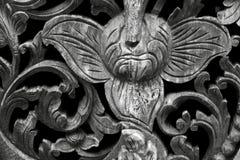 Madera esculpida Fotografía de archivo libre de regalías
