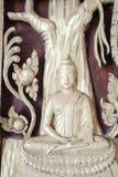 Madera esculpida Imágenes de archivo libres de regalías