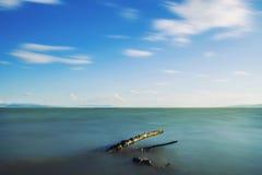 Madera flotante Fotos de archivo